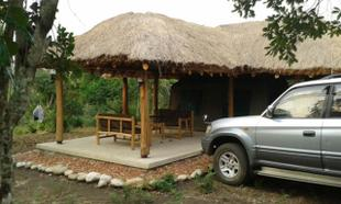 Perfect location to relax after the enjoting the Queen Elizabeth National Park