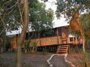 Go for an all day safari in the Qeen Elizabeth Nation Park and stay in our Lodge