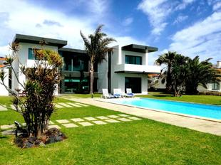 Villa with 5 bedrooms in Vila Franca do Campo with wonderful sea view private pool enclosed garden 20 m from the beach