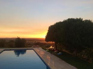 Villa with 3 bedrooms in Vila Nova da Baronia with wonderful mountain view private pool furnished garden