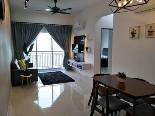 班達爾巴魯汝來的2臥室公寓 - 75平方公尺/2間專用衛浴Majestic Nilai View +100mbps Y5 & TV @ Mesahill