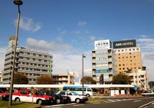 鹿兒島中央站前APA酒店