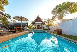竹古通的4臥室 - 100平方公尺/3間專用衛浴 Phangnga Bay Private Pool Villa