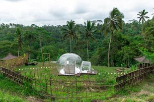 浪漫氣泡圓頂烏布飯店 Romantic Bubble Dome Ubud