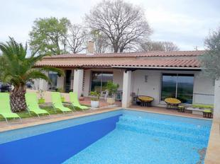 South France: holiday villa with private pool near the Gorges of the Ardeche