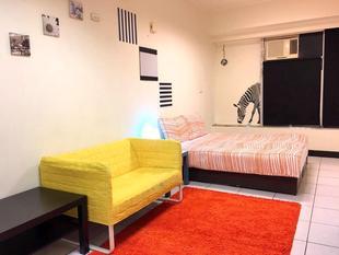 (3)溫馨雙人房 - 3分鐘步行府中站 ((3)Double bed room-3 mins walk to Fuzhong MRT Station
