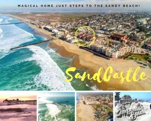 SANDCASTLE: Magical Home Steps to the Beach!