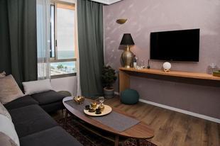 迦密海濱的1臥室公寓 - 38平方公尺/1間專用衛浴 A. C. Boutique Apartments