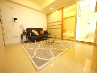 大安區的2臥室公寓 - 66平方公尺/1間專用衛浴Fashion design, 3 minutes to MRT Station