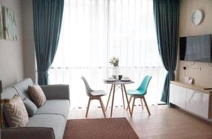 芭達雅中央區的1臥室公寓 - 38平方公尺/1間專用衛浴 Pattaya Blue Room