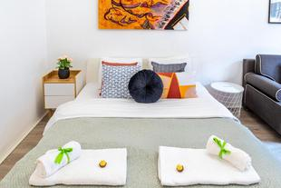 Sweet Studio with Art in the Heart of Budapest