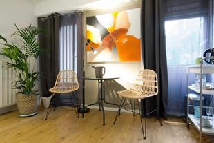 阿姆斯特丹中心令人愉快的一室公寓
