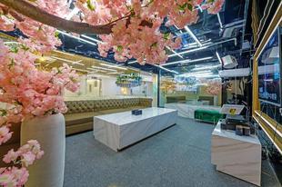 上海展覽中心的1臥室公寓 - 320平方公尺/1間專用衛浴n202普陀樱花馆,精装特别大平层,粉色少女系,超级奈斯!