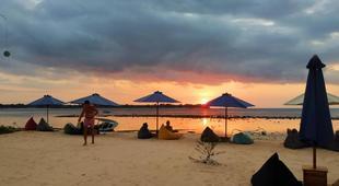 Sunset beach bungalow