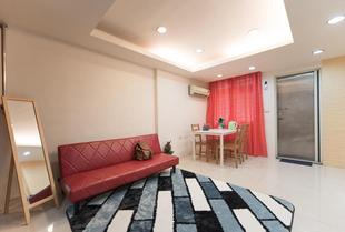 西門町的2臥室公寓 - 35平方公尺/1間專用衛浴KM0116 Cozy Apt. Near Ximen MRT 2 rooms 2-6ppl