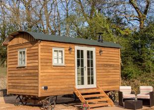 Luxury Shepherds Hut