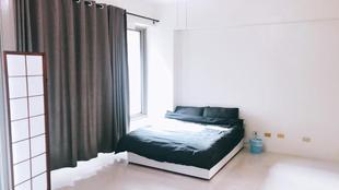 高鐵區雙人陽台雅房 (Noname-2A balcony roomNoname-2A balcony room (one bed)