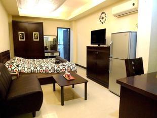 信義區公寓套房 - 28平方公尺/1間專用衛浴Taipei 101 Yurman Nestel Guesthouse G