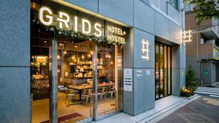 東京淺草橋網格飯店&青年旅館(2017年11月1日開業)