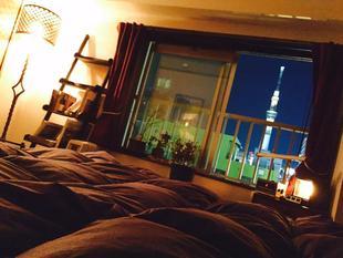 淺草的1臥室公寓 - 35平方公尺/1間專用衛浴Asakusa Retro Apartment with Sky Tree View