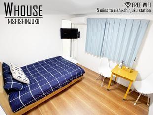 新宿的2臥室獨棟住宅 - 40平方公尺/1間專用衛浴 Tokyo White Villa @ Shinjuku W HOUSE Family Room