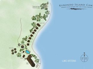 魯邦多島營地飯店 Rubondo Island Camp