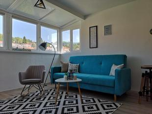 New Modern Roof Top STUDIO APARTMENT In The Centre Of Sarajevo !