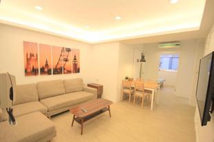 老台北 雙臥室新裝潢住宅 - 信義安和站OldTaipei 2 Bedroom Apartment renovation - Xinyi Anhe