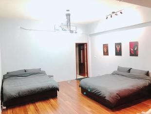 輕工業風整層型大套房-兩床 (Noname-4F light industrial large suiteNoname-4F light industrial large suite (two beds)