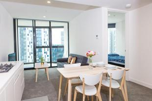 墨爾本CBD商業中心區的2臥室公寓 - 100平方公尺/1間專用衛浴Luxurious apartment in southbank facing crown