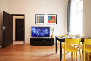 布拉格02區的2臥室公寓 - 70平方公尺/1間專用衛浴ROMANTIC PRAGUE, fully renovated historic building