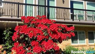 完美一卧室套房旅館 - 享有花園景