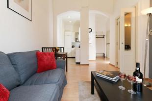 布拉格02區的1臥室公寓 - 42平方公尺/1間專用衛浴Belgicka 6, # 4, Vinohrady, Praha 2