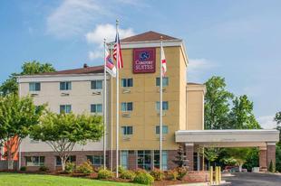 亨茨維爾研究園區舒適套房飯店Comfort Suites Huntsville Research Park Area