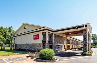 南加州格林伍德紅屋頂汽車旅館