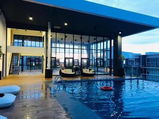 古晋市中心的2臥室公寓 - 916平方公尺/2間專用衛浴 Gala City Infinity Pool Trendy Studio Apartment